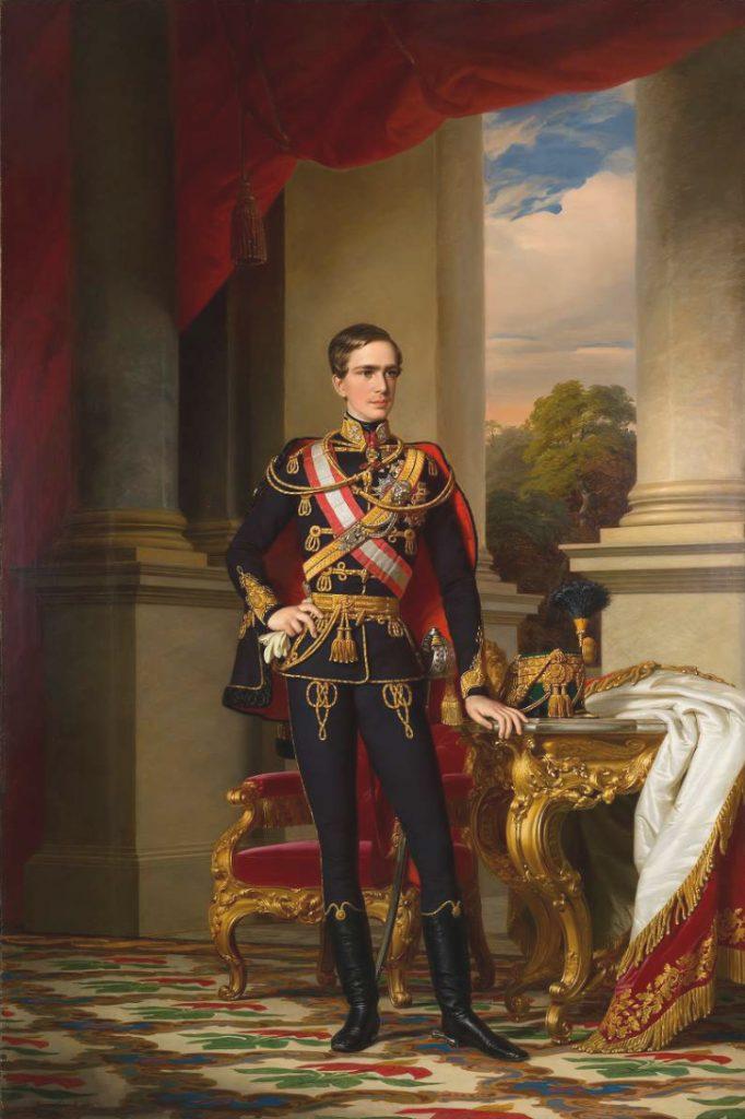 Ο αυτοκράτορας (Kaiser) της Αυστροουγγαρίας , Francis Joseph I