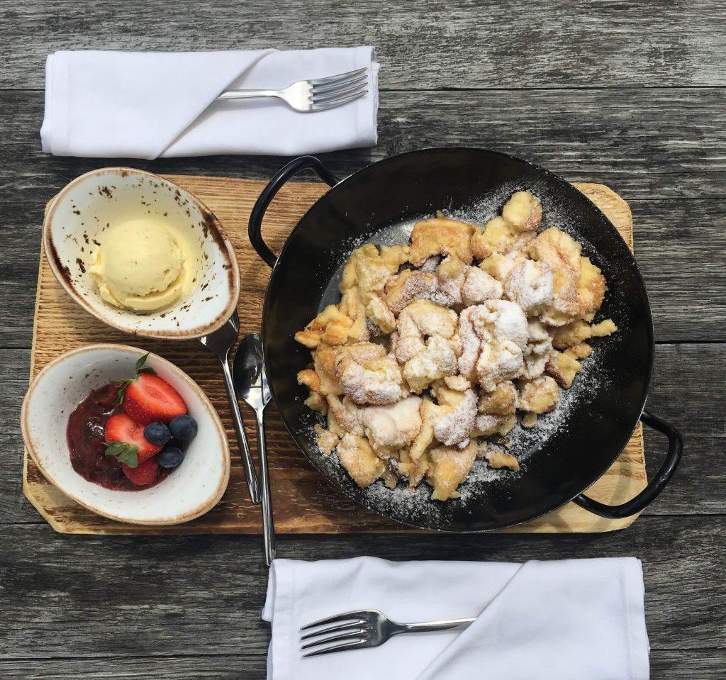 πιάτο βαυαρίας kaiserschmarrn