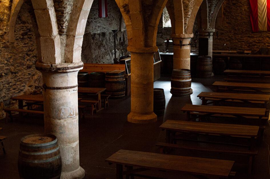 Μπυραρία μέσα στο κάστρο
