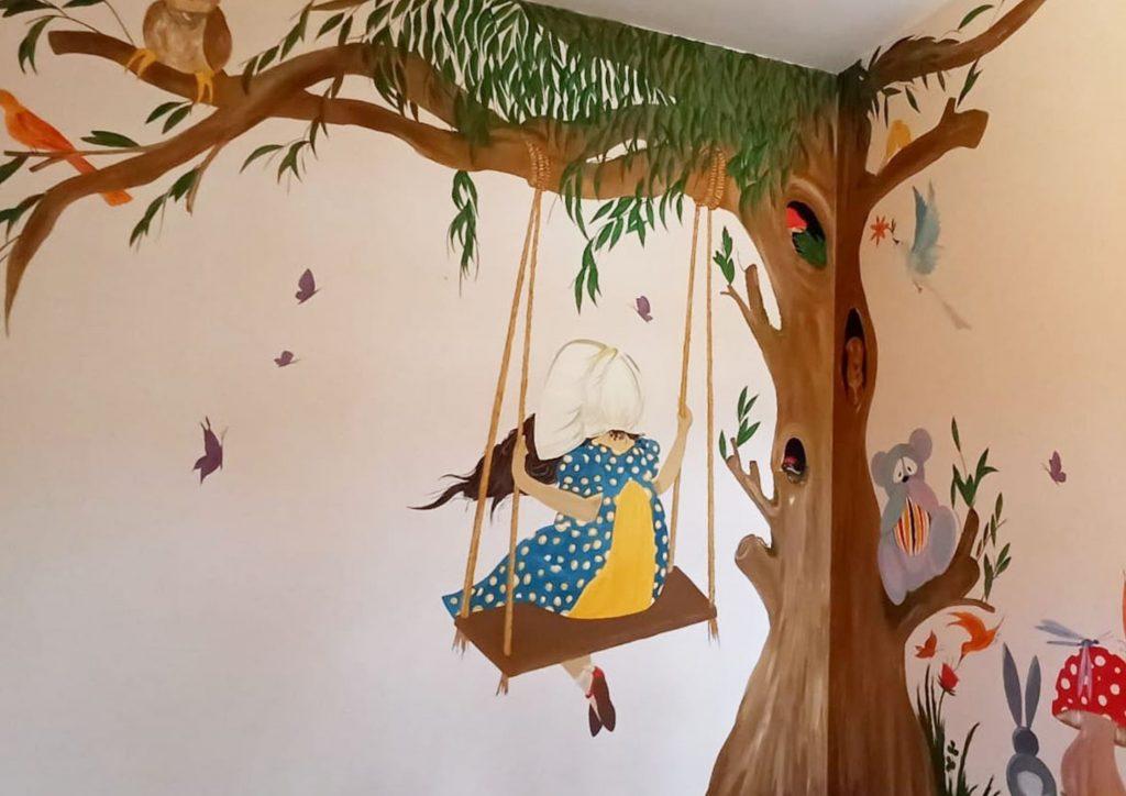 Τοιχογραφία για παιδικό δωμάτιο